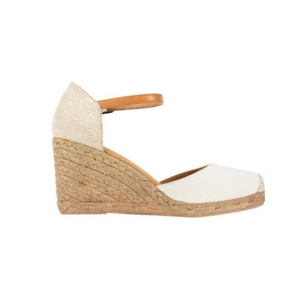 8d3191465bb White Mountain Mamba Espadrille Wedges Natural 6.5.  M 5bf692179fe4868089c92326